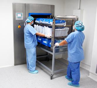 Organización estructural de la central de esterilización